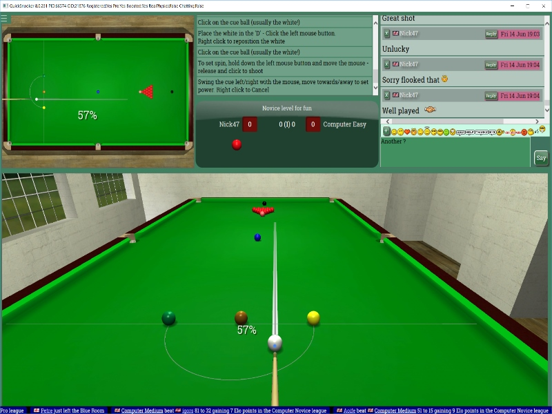 See more of QuickSnooker